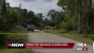 Woman shot and killed in Lehigh Acres
