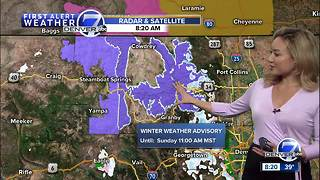 Mild in Denver to start the weekend. More snow for the mountains! - Video
