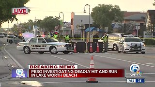 Pedestrian killed in Lake Worth Beach hit-and-run crash