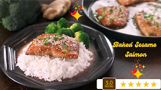 Baked sesame salmon: Fun and easy recipes