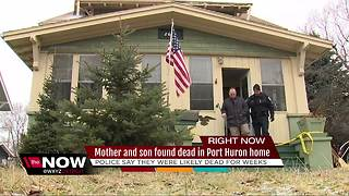 Mother, son found dead in Port Huron home from possible carbon monoxide poisoning - Video