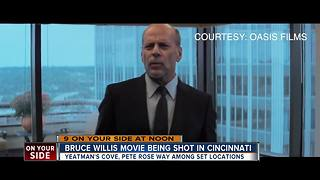 Bruce Willis movie being shot in Cincinnati - Video