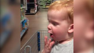"""Baby Loves The Supermarket"""