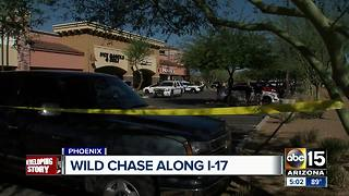 Suspects shoot at DPS troopers after I-17 chase