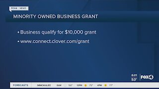 Minority owned business grant