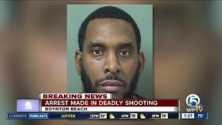 Suspect arrested in deadly Boynton Beach shooting - Video