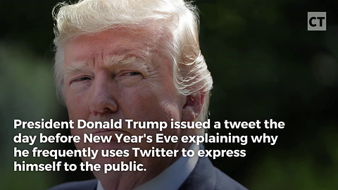 Trump Explains Why Twitter Is so Important