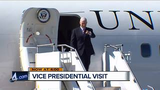Vice President Mike Pence in Milwaukee today - Video