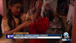 Local high school Junior attending homecoming dance despite illness - Video