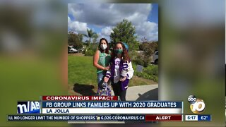 Facebook group links families with 2020 graduates