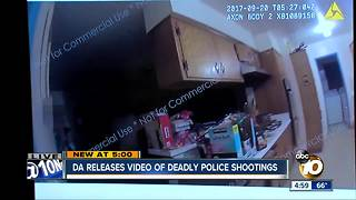 GRAPHIC: DA releases video of police shootings - Video