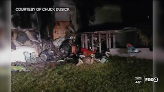 Red Cross helps after mobile home fire in North Fort Myers