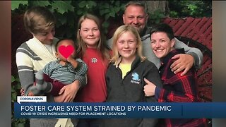 Foster care system strained by coronavirus pandemic