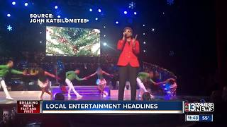 Local entertainment headlines with Johnny Kats for December 6th - Video