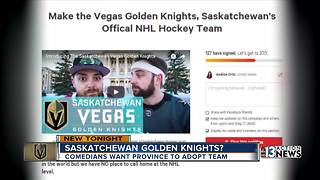 Should Canadian province adopt Vegas Golden Knights?
