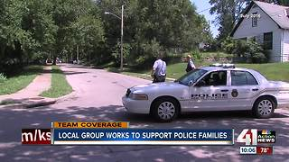 Local group backs families of fallen officers