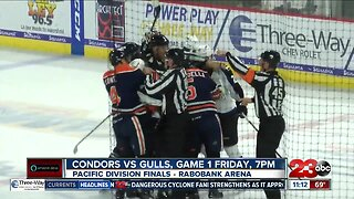 Condors Pacific Division Finals schedule