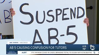 AB 5 causing confusion for tutors