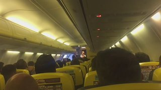 Irish Pilot Has the 'Craic' With Fans Flying to Euro 2016 Game - Video