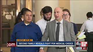 Second family reveals fight for medical care
