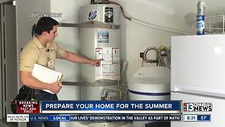 NV Energy gives tips on preparing your home for summer - Video