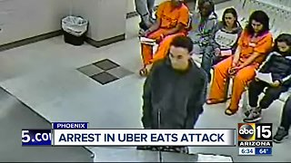 Two arrested in armed robbery of UberEats driver