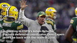 Green Bay Packers Expected To Part Ways With Dom Capers - Video