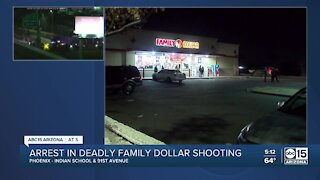Arrest made in Family Dollar store shooting