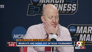 Cincinnati, Northern Kentucky made early exits from NCAA Tournament