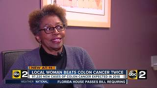 Local woman beats Cancer three times - Video