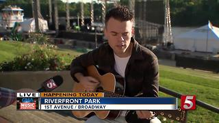 Sammy Arriaga Performs Before CMA Fest - Video
