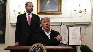 President Trump signs $8.3 billion coronavirus spending measure