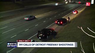 911 calls of Detroit freeway shootings released - Video