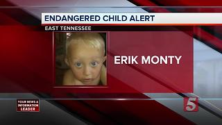 Endangered Child Alert Issued In East Tennessee
