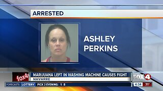 Woman arrested, accused of beating wife with bedpost over pot