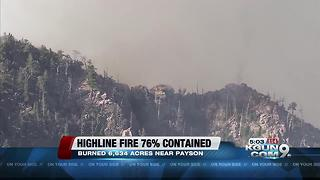 Highline fire increases to 6,634 acres - Video