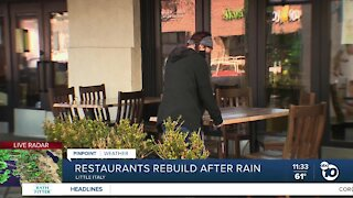 Local restaurants ready to reopen after storm passes