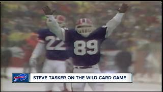 Steve Tasker talks Bills vs Jaguars and past playoffs with the morning show crew - Video