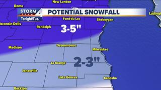 Heavy wet snow continues into Tuesday - Video