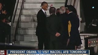 President Obama to visit MacDill AFB on Tuesday