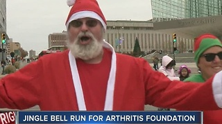 Tulsa's Jingle Bell Run brings the Christmas spirit downtown - Video