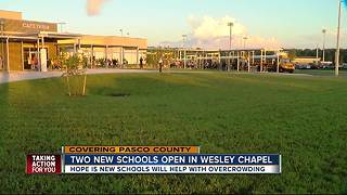Two new schools open in Pasco County - Video
