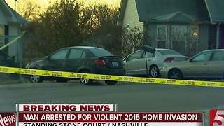 Arrest Made 1 Year After Nashville Home Invasion - Video