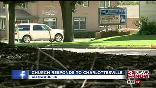 Glenwood church draws attention for Charlottesville response - Video