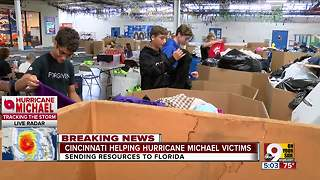 Cincinnati helping hurricane victims