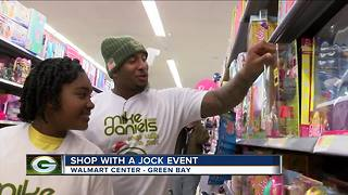 Shopping with the Packers' Mike Daniels