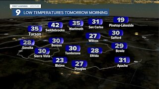 Cool night, but warming trend moves in to end the weekend