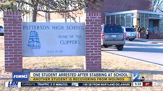 Student stabbed in fight at Patterson High School