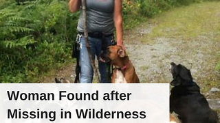 Woman Found after Missing in Wilderness 3 Days, Husband Knows Reason She's Alive - Video