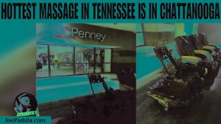 Massage chair bursts into flames at Tennessee mall